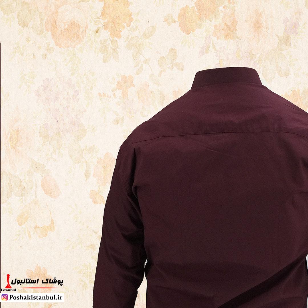 پیراهن زرشکی