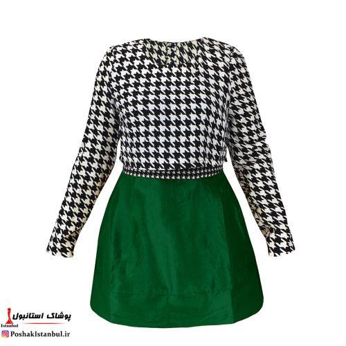 پیراهن سبز
