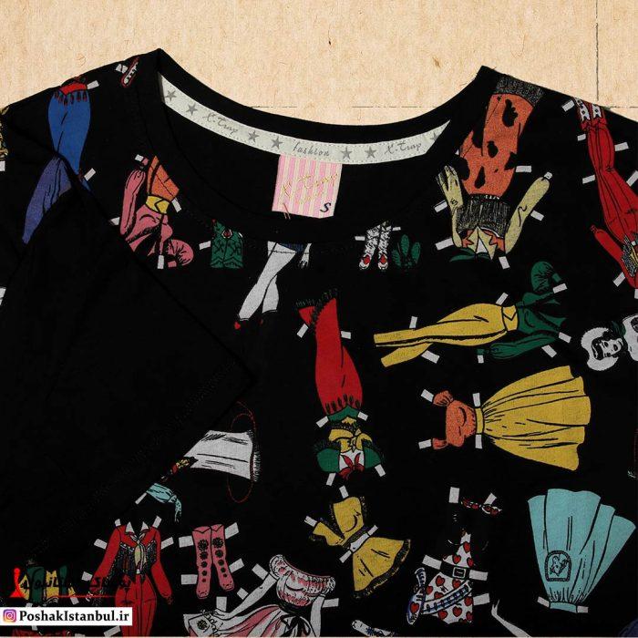 تی شرت دخترانه باربی