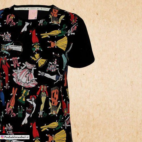 خرید آنلاین تی شرت زنانه جدید