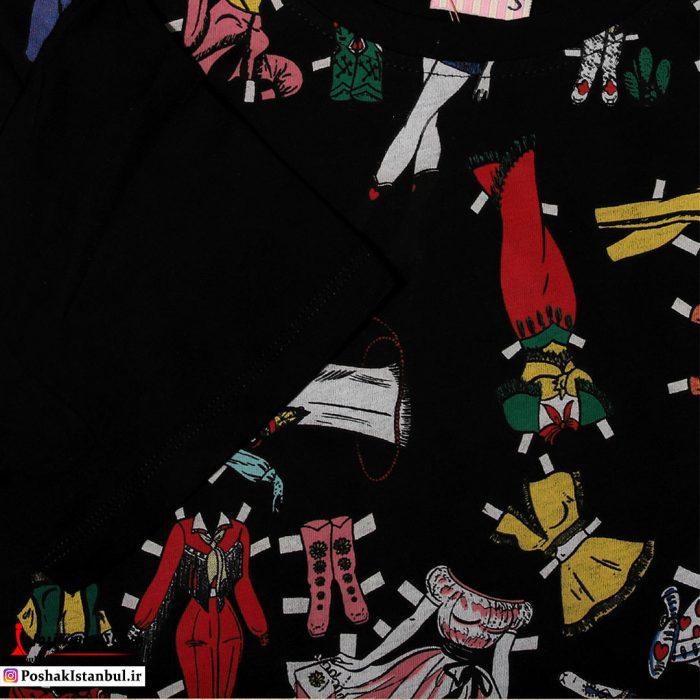 تی شرت طرح دار باربی