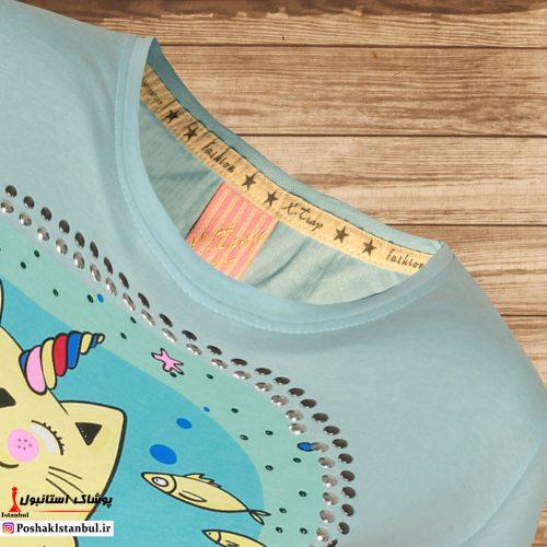 تی شرت دخترانه شاه ماهی