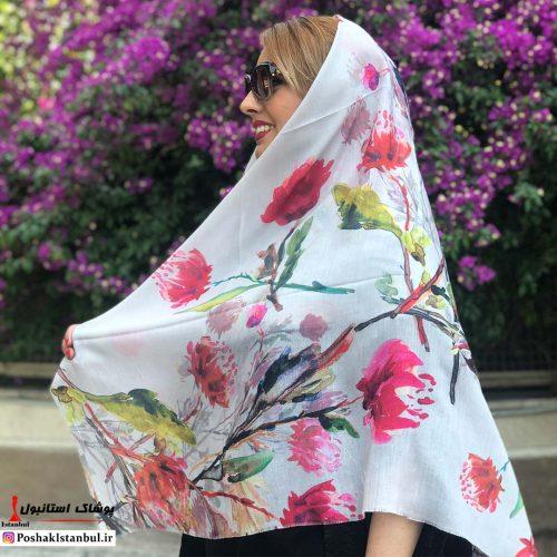 خرید آنلاین روسری نخی جدید 99