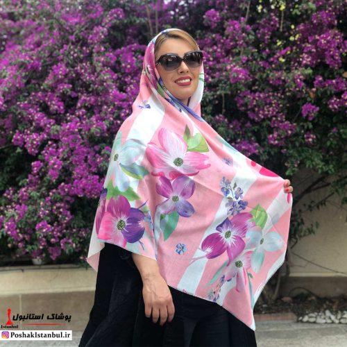 روسری دخترانه فلاور فایو