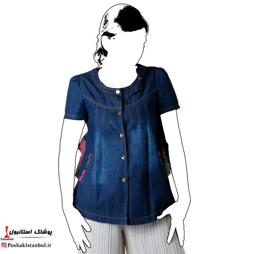 شومیز زنانه جین جدید