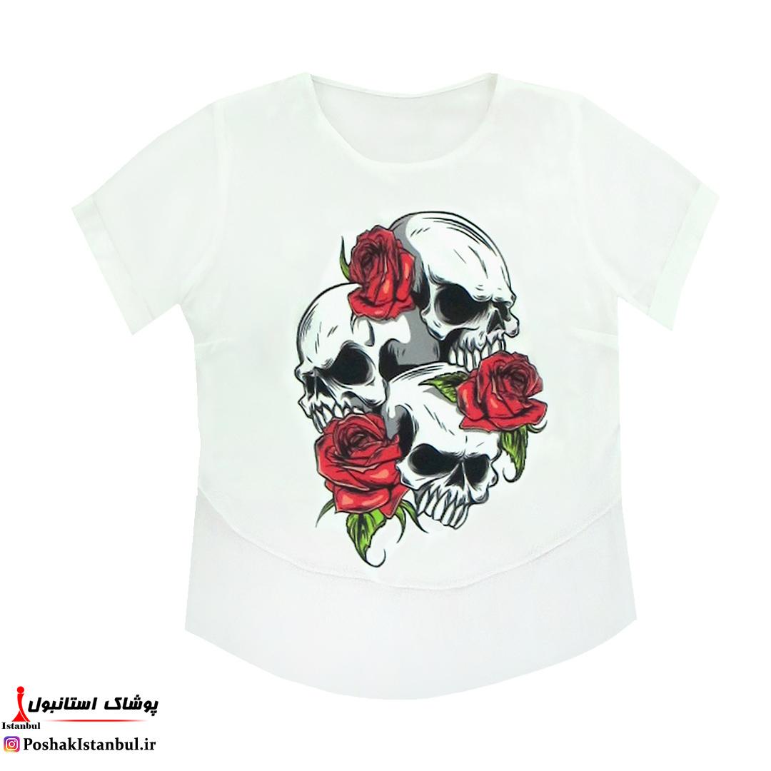 تی شرت زنانه سافت طرحدار