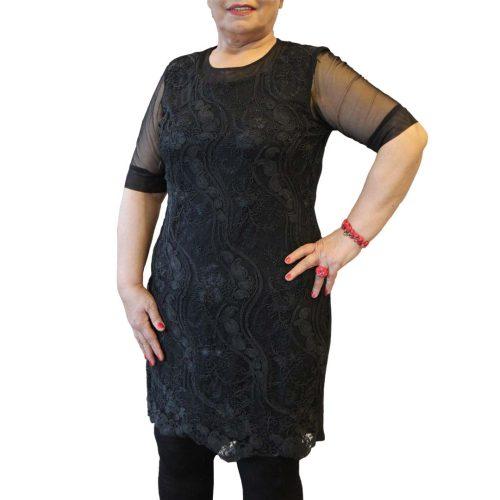 پیراهن زنانه سایز بزرگ مشکی