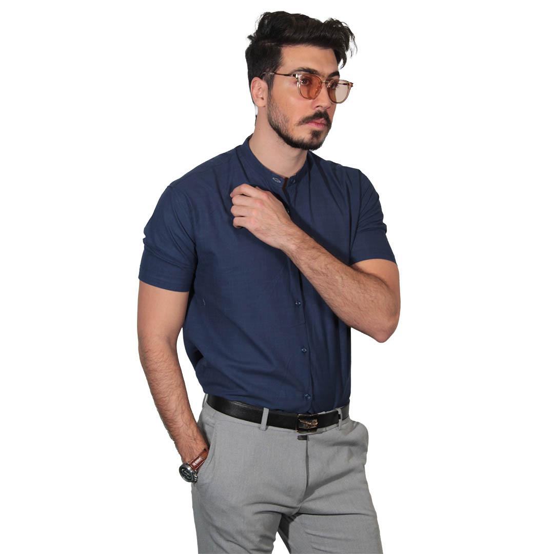 ترند امسال پیراهن مردانه آستین کوتاه
