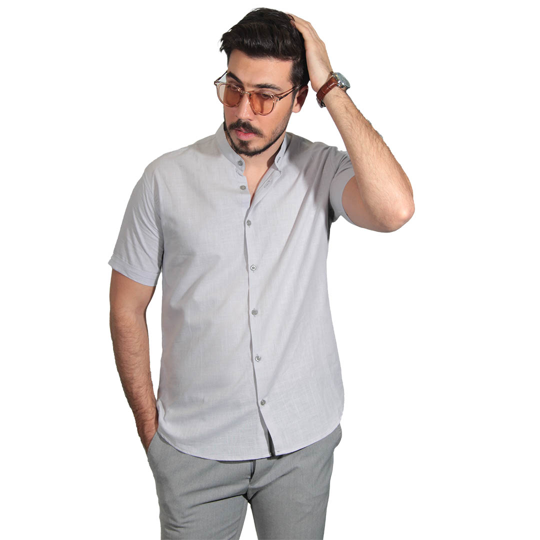 پیراهن مردانه ساده