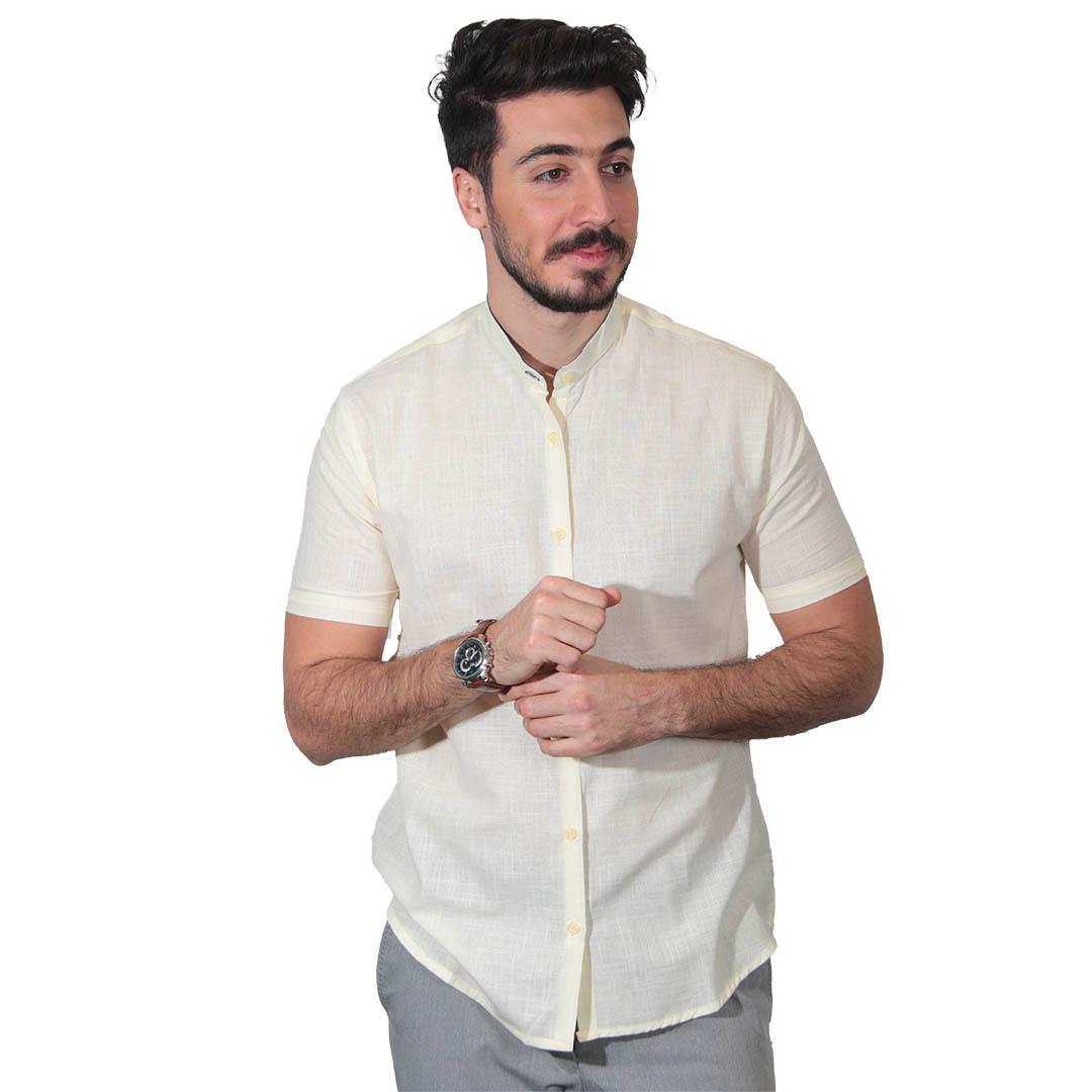 پیراهن آستین کوتاه مردانه جدید
