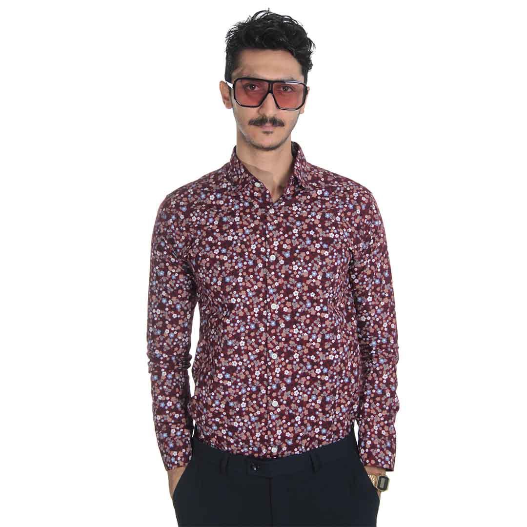 خرید اینترنتی پیراهن گلدار