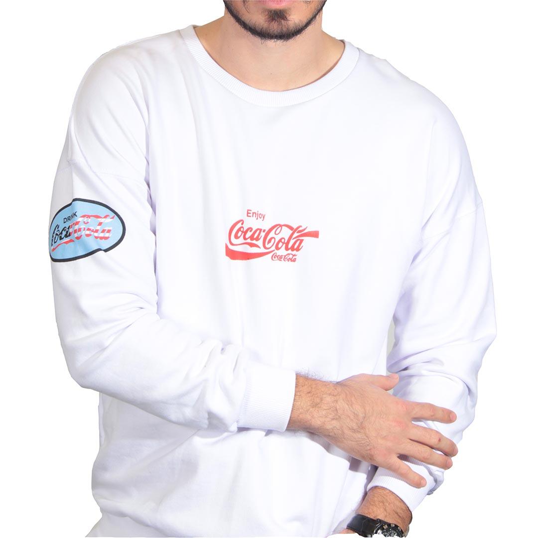 سویشرت مردانه سفید