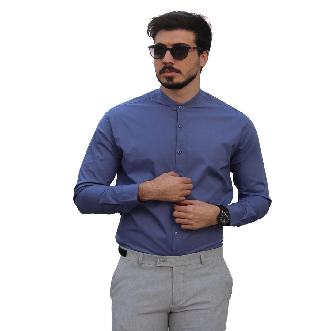 خرید جدید ترین پیراهن مردانه یقه دیپلمات