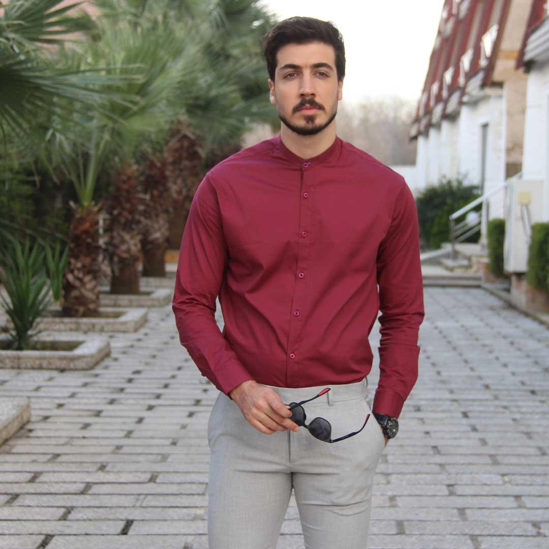 جدید ترین مدل پیراهن مردانه یقه دیپلمات