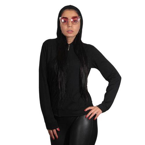جدید ترین مدل سویشرت زنانه مشکی