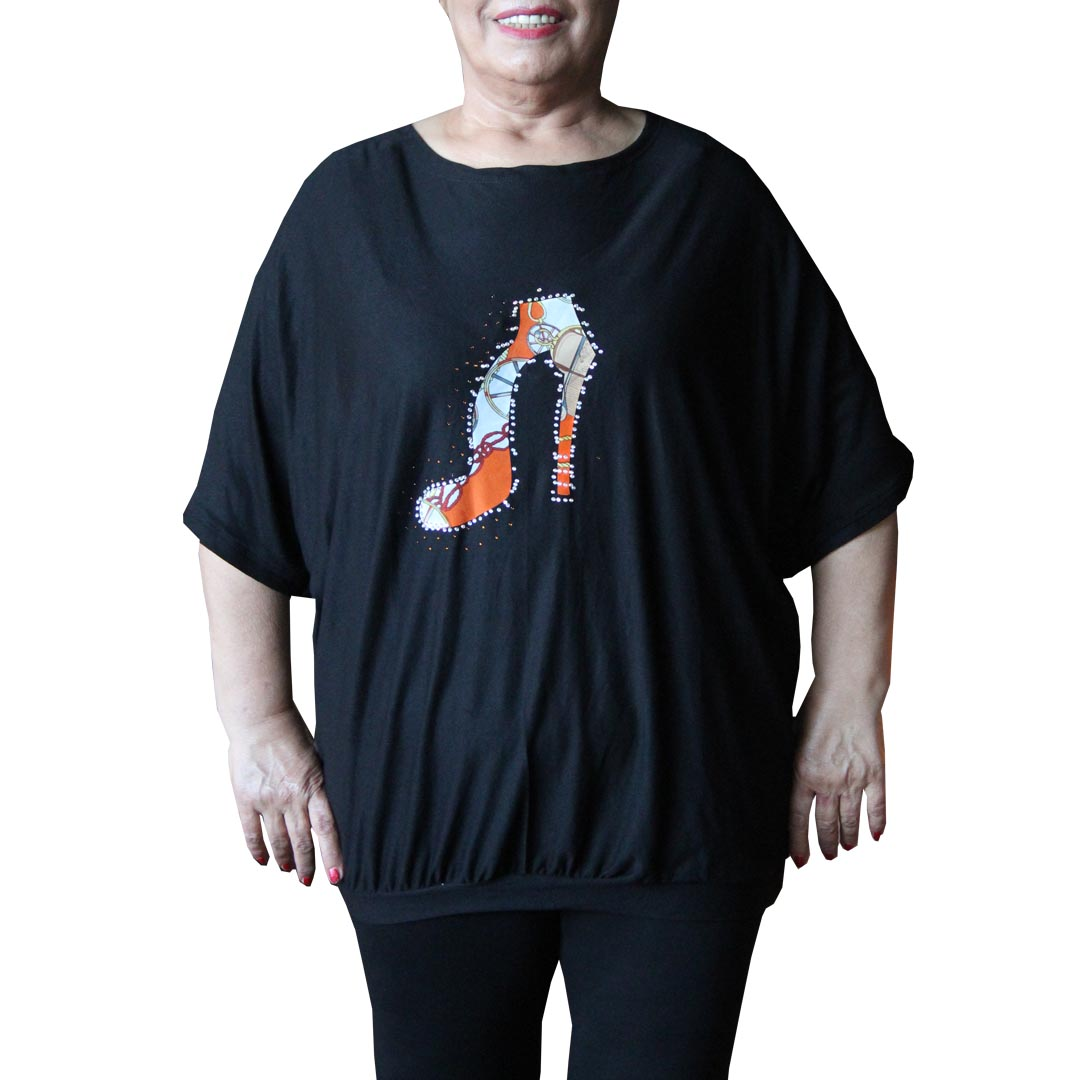 تیشرت زنانه سایز بزرگ