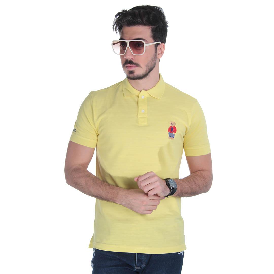 تیشرت مردانه زرد