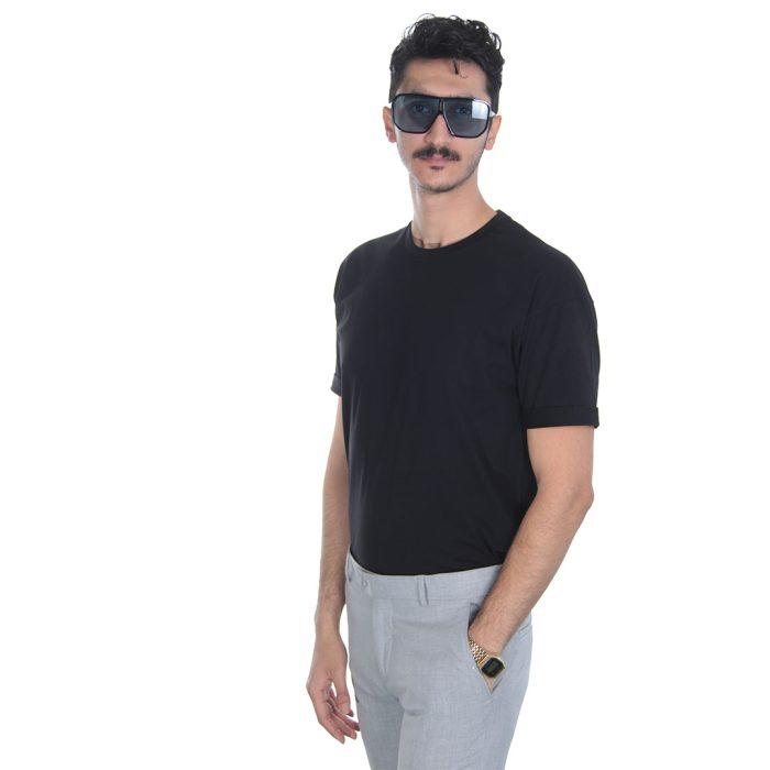 خرید آنلاین تیشرت مردانه مشکی