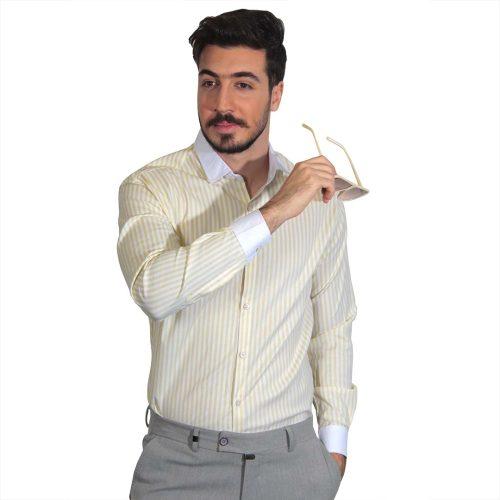 پیراهن مردانه راه راه
