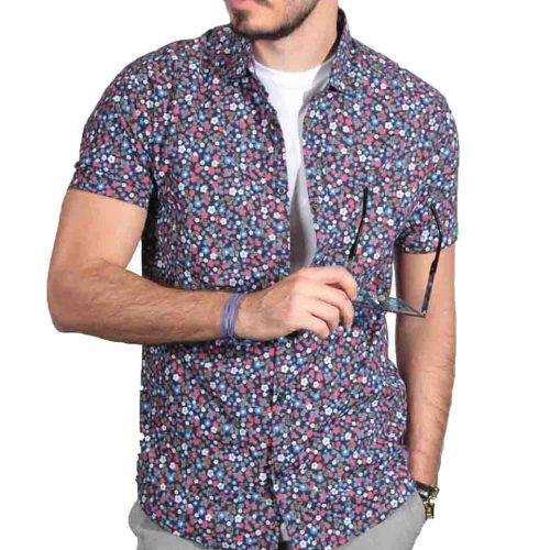 پیراهن مردانه آستین کوتاه