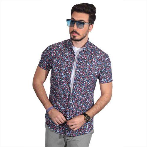جدید ترین مدل پیراهن آستین کوتاه هاوایی