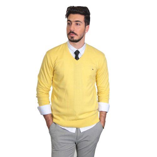 پلیور مردانه رنگ زرد