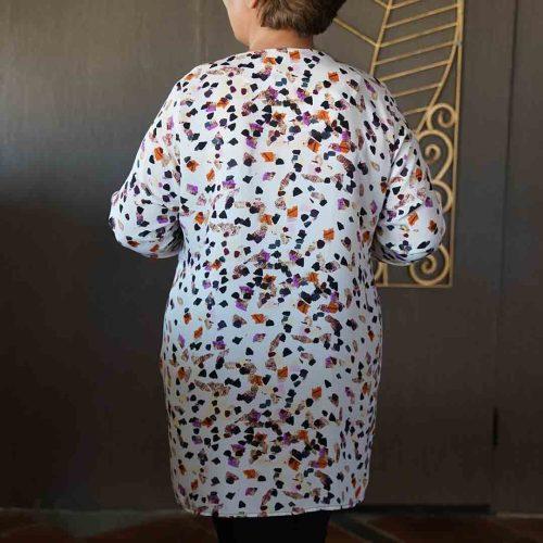 شومیز زنانه طرحدار سایز بزرگ