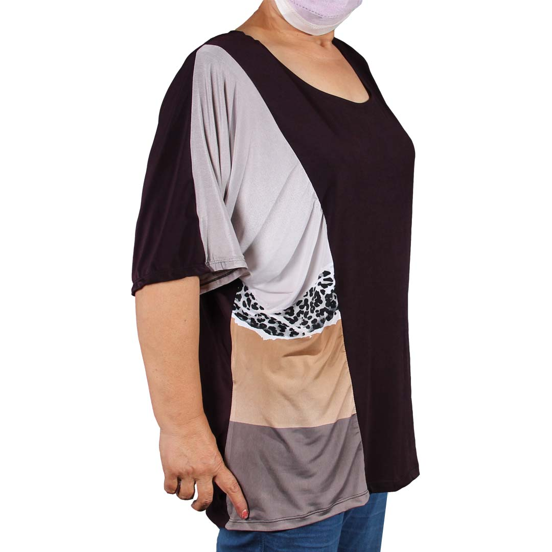 تیشرت زنانه سایز یزرگ