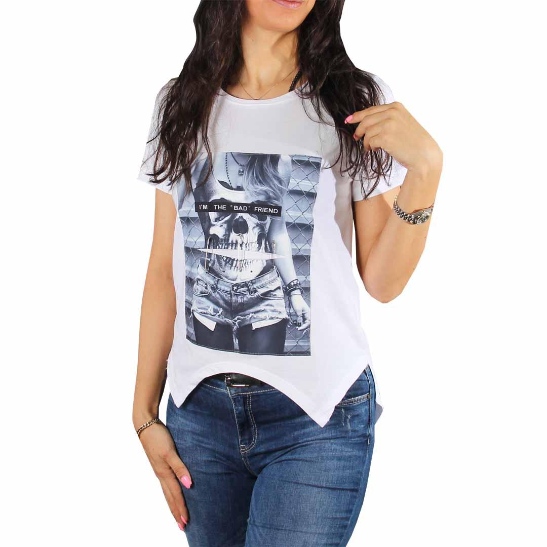 تیشرت زنانه چاپدار
